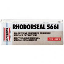 Rýchlo tvrdnúce biele silikónové tesnenie Rhodorseal 5661 Arexons 60g