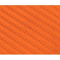 Karbónová fólia - Oranžová