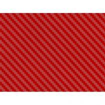 Karbónová fólia - Červená