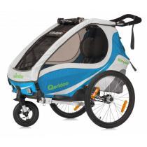 Detský vozík na bicykel Qeridoo Kid Goo 1 modry (model 2017)-W