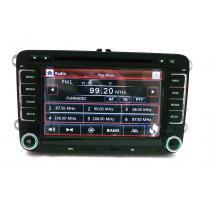 Autorádio ŠKODA, VW, SEAT autorádio s 3D GPS, DVD, USB, SD, BLUETOOTH