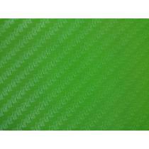 Karbónová fólia - Zelená