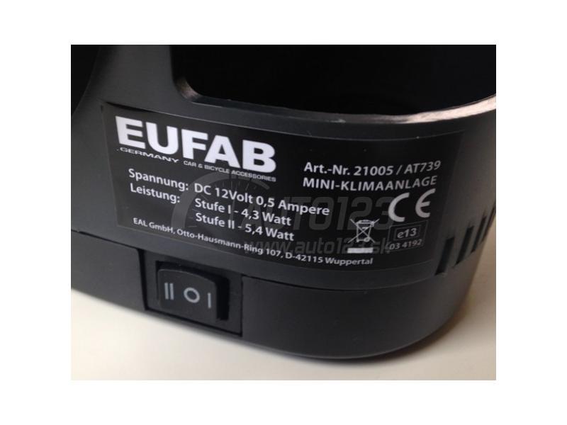 Mini klimatizácia do auta i domácnosti 12/230V Eufab