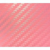 3D karbónová fólia - ružová