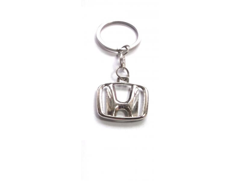 Prívesok na kľúče s logom Honda chrómový  ccae8512a4b