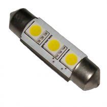 Led žiarovka 3xSMD, biela, 5050, Sulfid/ Festoon