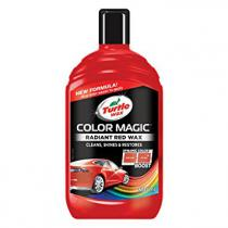 Autovosk Turtle Wax Color Magic Plus 500ml červený