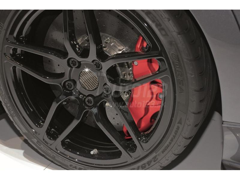 Farba na brzdy a motor Foliatec červená Rosso sada