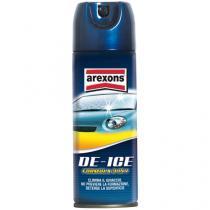 Rozmrazuje, čistí a zabraňuje opätovnému zamrznutiu skiel automobilov.
