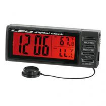 Digitálne hodiny s teplomerom Seyio K-7