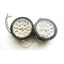 LED denné svietenie DRL okrúhle 36xLED
