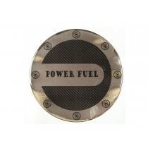 Nálepka na nádrž auta Power Fuel 14cm