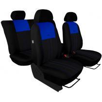 Autopoťahy Pok-ter Duo Luxus čierno-modré