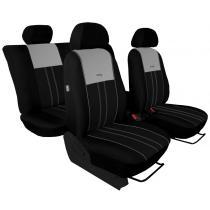 Autopoťahy Pok-ter Duo Luxus čierno-šedé