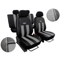 Autopoťahy Pok-Ter Leather Look GT Sivé
