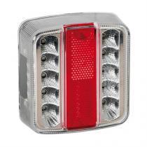 Koncové svetlo 14led 12V  100x95mm Lampa