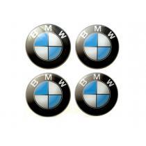 Nálepky na kolesá BMW modro-biele 5,5cm