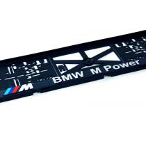 3D Podložka pod ŠPZ BMW M Power 2ks