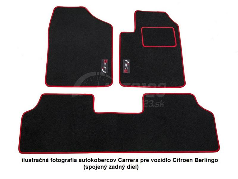 Textilné autokoberce Carerra