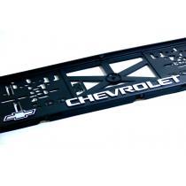 3D Podložka pod ŠPZ Chevrolet 2ks