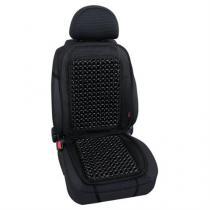 Guličkový poťah sedadla čierny
