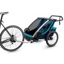 Detský vozík na bicykel Thule Chariot Cross 2, Blue