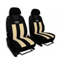 Autotričká GT Alcantara béžové Pok-Ter