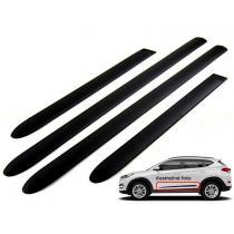 Bočné ochranné lišty dverí Audi Q3 od 2011