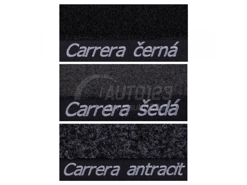 Dostupne farby autokobercov Carera