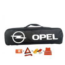 Taška povinnej výbavy Opel čierna