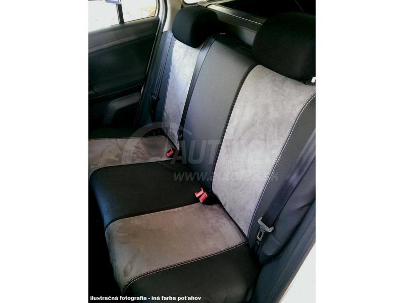 Autopoťahy Pok-ter Exclusive Alcantara - sivé