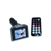 FM Transmitter USBSD 1,8 LCD displej čierno-chrómový