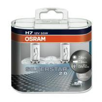 Osram Silverstar H7 12V 55W 2ks