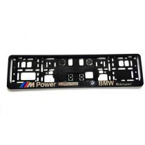 3D Podložka pod ŠPZ BMW M POWER2 2ks