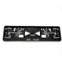 3D Podložka pod ŠPZ Audi 2ks