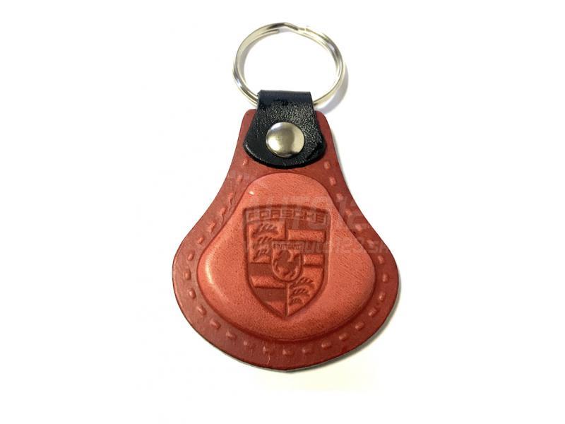 Kožená kľúčenka Porsche červená  77c706cc4b4