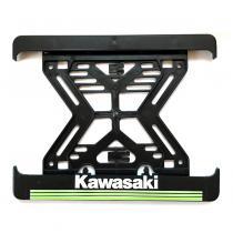 3D Podložka pod špz MOTO Kawasaki zelená