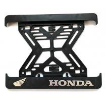 3D Podložka pod špz MOTO Honda hliníková