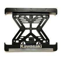3D Podložka pod špz MOTO Kawasaki hliníková