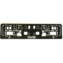 3D Podložka pod ŠPZ BMW 2ks biely