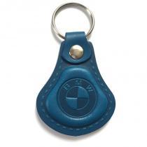 Kožená kľúčenka BMW modrá
