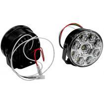 LED denné svietenie DRL okrúhle 9W