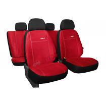 Autopoťahy Pok-ter Comfort Alcantara - červené