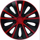 Puklice Rapid červeno-čierne Versaco
