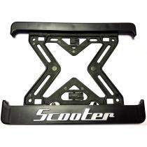 3D Podložka pod špz MOTO Scooter