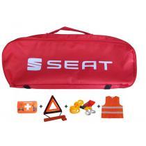 Taška povinnej výbavy Seat červená