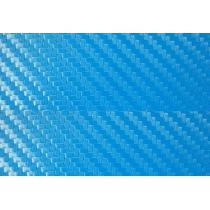 Karbónová fólia 3D svetlo modrá