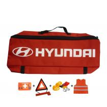 Taška povinnej výbavy Hyundai červená