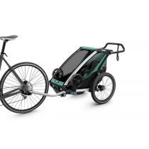 Detský vozík na bicykel Thule Chariot Lite 1, Bluegrass