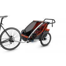 Detský vizík na bicykel Thule Chariot Cross 2, Orange